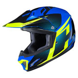 HJC Youth CL-XY 2 Argos Helmet Neon Green/Blue