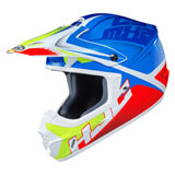 HJC CS-MX 2 Ellusion Helmet Neon Green/Blue