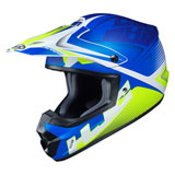 HJC CS-MX 2 Ellusion Helmet Semi-Flat Blue