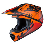 HJC CS-MX 2 Ellusion Helmet Semi-Flat Orange