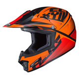 HJC Youth CL-XY 2 Ellusion Helmet Semi-Flat Orange
