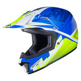 HJC Youth CL-XY 2 Ellusion Helmet Semi-Flat Blue