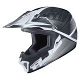 HJC Youth CL-XY 2 Ellusion Helmet White/Black