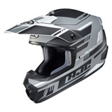 HJC CS-MX 2 Trax Helmet Semi-Flat Black