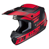 HJC CS-MX 2 Trax Helmet Semi-Flat Red