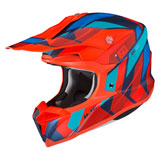 HJC i50 Vanish Helmet Semi-Flat Hi-Vis Orange