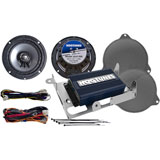 "Hogtunes 6.5"" Speaker and Amp Kit"