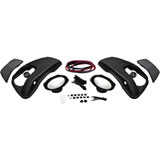 "Hogtunes Speaker Lid Kit with 6"" x 9"" Speakers for OEM Hard Saddlebags"