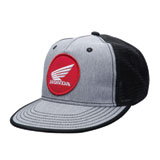 Honda Grey Flat Bill Snapback Hat