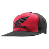 Honda Red Flat Bill Snapback Hat