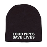 Hot Leathers Embroidered Loud Pipes Knit Beanie