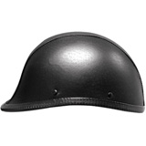 Hot Leathers Hawk Style Half-Face Motorcycle Helmet