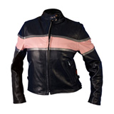 Hot Leathers 509 Ladies Leather Motorcycle Jacket
