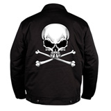Hot Leathers Skull & Crossbones Mechanic's Jacket
