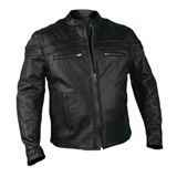 Hot Leathers Touring Leather Motorcycle Jacket