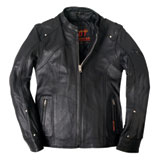 Hot Leathers Ladies Leather Motorcycle Jacket
