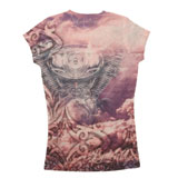 Hot Leathers Women's Angel Wings Sublimation T-Shirt