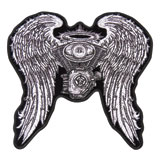 Hot Leathers Embroidered Patch -  Asphalt Angel Lady