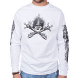 Hot Leathers Reaper Wings Long Sleeve T-Shirt