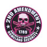 Hot Leathers Embroidered Patch -  Homeland Security