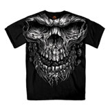 Hot Leathers Shredder Skull T-Shirt