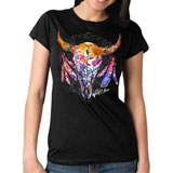 Hot Leathers Women's Wildflowers T-Shirt