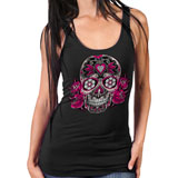 Hot Leathers Women's Sugar Skull Tank