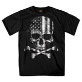 Hot Leathers Flag Skull T-Shirt