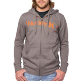Hurley One & Only Stencil Zip-Up Hooded Sweatshirt