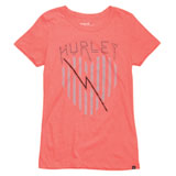 Hurley Heart Lines Perfect Ladies T-Shirt