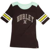 Hurley Valedictorian End Zone Ladies T-Shirt