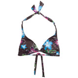 Hurley Moon Bloom Ladies Halter Bikini Top