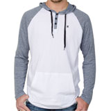 Hurley Valley Long Sleeve Henley T-Shirt