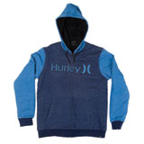 Hurley HB Sherpa Zip-Up Hooded Sweatshirt