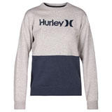 Hurley Women's One & Only Blocked Fleece Sweatshirt