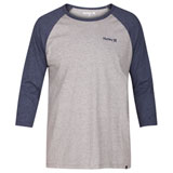 Hurley One & Only 3/4 Raglan Sleeve T-Shirt