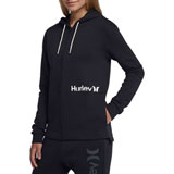 Hurley Women's One & Only Cut Zip-Up Hooded Sweatshirt