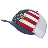 Hurley Women's USA Snapback Trucker Hat