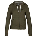 Hurley Women's One and Only Box Perfect Zip-Up Hooded Sweatshirt