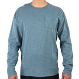 Hurley Lagos Port Long Sleeve T-Shirt Celestial Teal