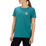 Hurley Women's Forever Paradise Perfect T-Shirt Mineral Teal