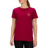 Hurley Women's Forever Paradise Perfect T-Shirt Noble Red