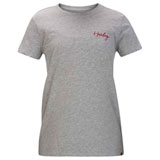 Hurley Women's Smooth Perfect T-Shirt Grey Heather