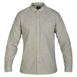 Hurley One & Only 2.0 Long Sleeve Button Up Shirt Jade Horizon