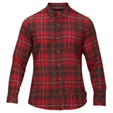 Hurley Vedder Washed Long Sleeve Button Up Shirt Team Red