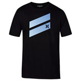 Hurley Icon Slash Gradient T-Shirt Black