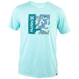 Hurley One & Only Camo Box T-Shirt Aurora Green Heather
