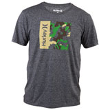 Hurley One & Only Camo Box T-Shirt Black Heather