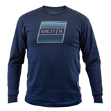Hurley East Cape Long Sleeve T-Shirt Obsidian