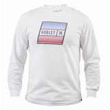 Hurley East Cape Long Sleeve T-Shirt White